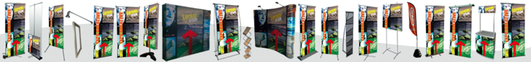 stand portable deroulant